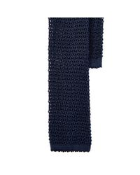 Polo Ralph Lauren | Blue Knit Silk Tie for Men | Lyst
