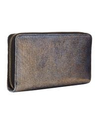 Vivienne Westwood - Metallic Glitter Zip-Around Wallet - Lyst