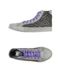 Studswar | Gray High-tops & Trainers | Lyst