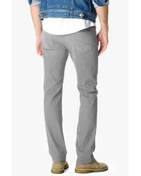 7 For All Mankind | Gray Standard Classic Straight In Solstice Grey for Men | Lyst