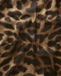 Jaeger - Multicolor Natural Leopard Print Scarf - Lyst