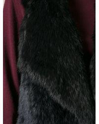 Meteo by Yves Salomon - Black Fur Gilet - Lyst