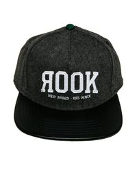 Rook - Black The Classic Snapback Hat for Men - Lyst