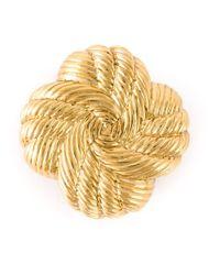 Nina Ricci | Metallic Stud Earrings | Lyst