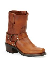 Frye | Brown Harness Leather Mid-calf Boots | Lyst
