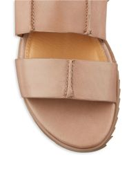 Kelsi Dagger Brooklyn | Brown Panther Slingback Sandals | Lyst