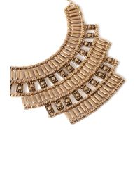 Forever 21 - Metallic Tiered -inspired Necklace - Lyst