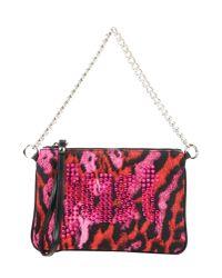 Just Cavalli - Purple Handbag - Lyst