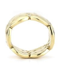Cartier - Metallic Pre-Owned: 18K Yellow Gold Diamond Ring - Lyst