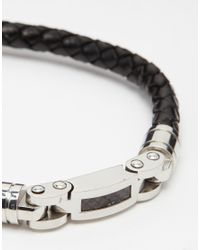 Seven London - Black Link Bracelet for Men - Lyst