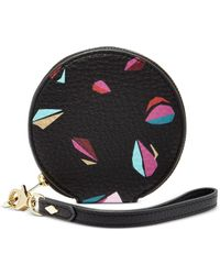 Fossil | Black Travel Coin Purse | Lyst