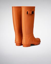 Hunter | Orange Women's Huntress Wellington Boots | Lyst