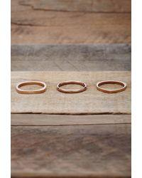 Forever 21 | Metallic Vitaly Shapes Ring Set | Lyst