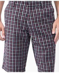 Forever 21 - Black Micro Plaid Shorts for Men - Lyst