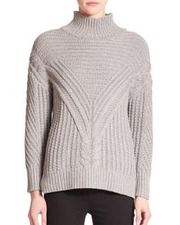 Parker | Gray Tawny Turtleneck Sweater | Lyst