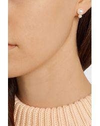 Sophie Bille Brahe - White Lulu Perle And Petite Perle 14-Karat Gold Pearl Earrings - Lyst