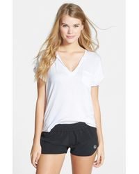 Volcom - Black 'simply Solid 2' Shorts - Lyst
