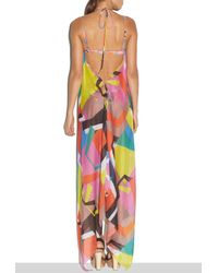 MILLY - Multicolor Cabana Graphic Print Katrina Coverup - Lyst