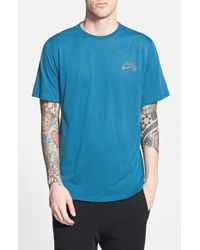 Nike | Blue 'skyline' Short Sleeve Crewneck T-shirt for Men | Lyst