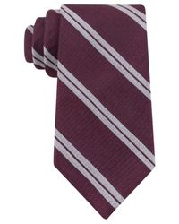 Michael Kors | Purple Collection Double Tree Stripe Tie for Men | Lyst