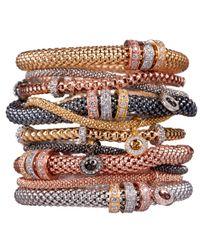 Bouton - Pink Magnetic Mesh Bracelet - Lyst