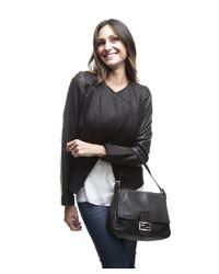 Fendi - Pre-owned Black Leather Mama Bag - Lyst