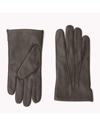 Tommy Hilfiger | Brown Leather Gloves Gift Pack for Men | Lyst