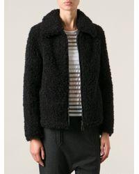 Pinko - Black Cropped Jacket - Lyst