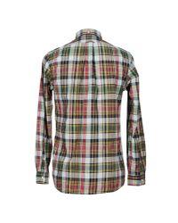 Polo Ralph Lauren   Blue Plaid Linen Estate Sportshirt for Men   Lyst