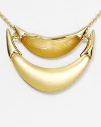 Alexis Bittar - Metallic Lucite 2 Tier Liquid Metal Suspended Pendant Necklace 15 - Lyst