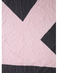 Bernhard Willhelm - Pink Arrow Print Scarf - Lyst