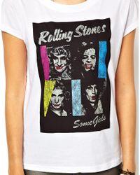 ELEVEN PARIS - White Stones Tshirt - Lyst