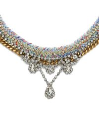 Venessa Arizaga | Metallic Women's Snowflake Necklace | Lyst