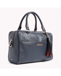 d7501295e8 Tommy Hilfiger Natalia Duffle Bag in Blue - Lyst