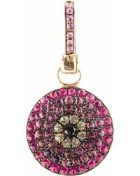 Annoushka | Purple Mythology 18ct White Gold And Diamond Passion Evil Eye Charm | Lyst