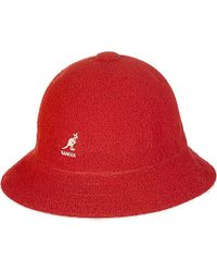 Kangol | Red Bermuda Hat for Men | Lyst