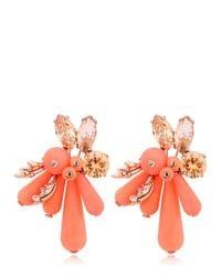 EK Thongprasert - Orange Flower Silicone Earrings - Lyst