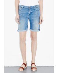 M.i.h Jeans - Blue Phoebe Slim Cut Off - Lyst