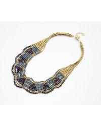 Nakamol - Multicolor Olympia Necklace-hematite - Lyst