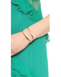 Vita Fede | Metallic Cristiana Pearl Bracelet Goldpearl | Lyst