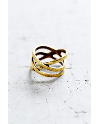 Urban Outfitters - Metallic All The Ways Ring - Lyst