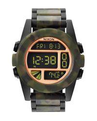 Nixon | Black 'the Unit' Bracelet Watch for Men | Lyst