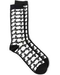 Henrik Vibskov - Black 'fm' Socks for Men - Lyst