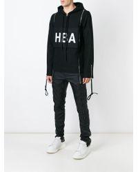 Hood By Air   Black Hba Print Hoodie for Men   Lyst