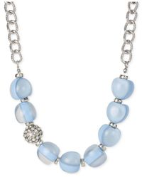 INC International Concepts | M. Haskell For Inc Light Blue Bauble Necklace | Lyst