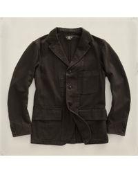 RRL | Gray Stevens Sport Coat for Men | Lyst