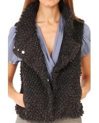IRO | Gray Catleen Vest Grey | Lyst
