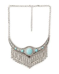 Forever 21 | Blue -inspired Chain Necklace | Lyst