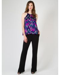 Alice & Trixie | Purple Jaclyn Top | Lyst