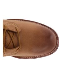 Timberland | Brown Whittemore Fabric And Leather Lace-up | Lyst